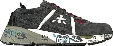 Scarpe da Uomo Premiata Sneaker in Pelle Scamosciata Tessuto Mase_3558