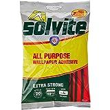 Solvite 1591161 All-Purpose Wallpaper Adhesive, Reliable Adhesive for Wallpaper, All-Purpose Adhesive with Long-Lasting Resul