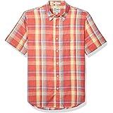 Lucky Brand Men's Short Sleeve Button Up Ballona Shirt