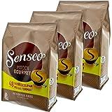 Para cápsulas Senseo Mocca Gourmet, fresco e intenso, café para Cafeteras monodosis de café, 144 almohadillas