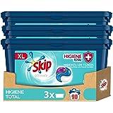Skip Ultimate Detergente Capsulas 3en1 Higiene, 3 x 30 Lavados