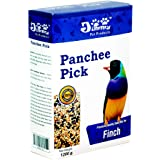 Jimmy Panchee Pick Bird Food For Finch, Zebra Finch & Exotic Birds -1200G