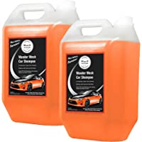Wavex® Car Shampoos (2Pcs, 5Ltr Each) pH Neutral Car Shhampo Formula Peach Fruit Fragrance