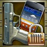 Pistolenschießen Bildschirmsperre