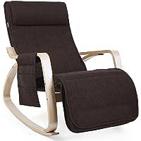 SONGMICS Rocking Chair Fauteuils de Salon