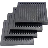 Zenith Rubber Store Anti Vibration Pads (Black, 25 mm X 100 mm X 100 mm) -Combo of 4