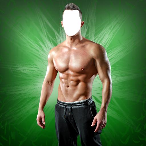 Gymnastik-Körper-Foto-Montage