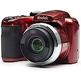 """كاميرا رقمية Kodak PIXPRO Astro Zoom AZ252-RD 16MP تقريب بصري 25X و3"""" LCD (أحمر)"""