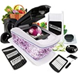 Vegetable Chopper, Fun Life 13 in 1 Vegetable and Onion Choppers, Mandolin Slicer and Food Dicer, Multifunctional Cutter for
