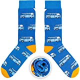CUP OF SOX Baumwolle Lustige Socken in der Pappbecher - Perfekt als Geschenk für Männer und Frauen - Bulli/Bus/Samba