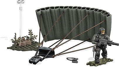 Mega Brands Mega Construx Call Of Duty Jungle Paratrooper Drop