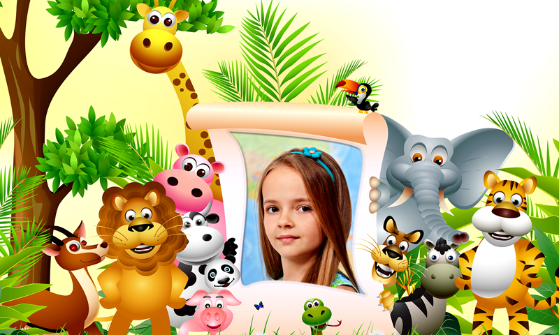 Bambini jungle cornici appstore per android for Cornici amazon