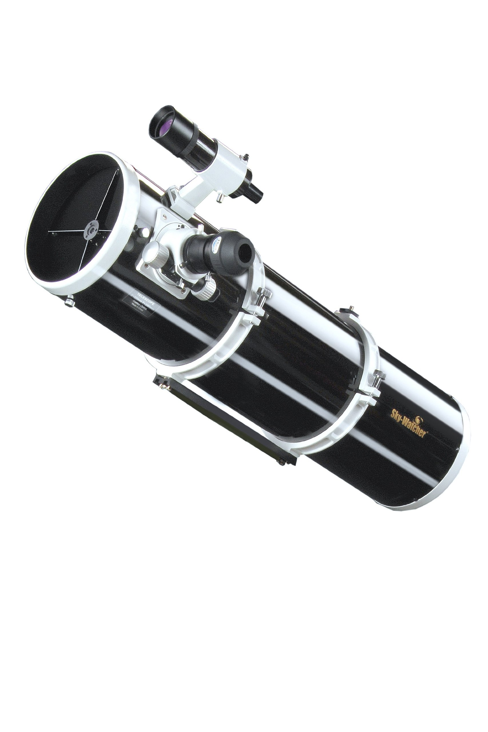 Skywatcher Explorer-200PDS OTA Dual-Speed Newton Telescope with Parabolic Mirror 200 mm / 8-Inch/f/5 Black