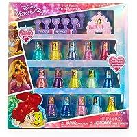 Townleygirl Disney Princess Peel-Off Nail Polish Gift Set For Kids