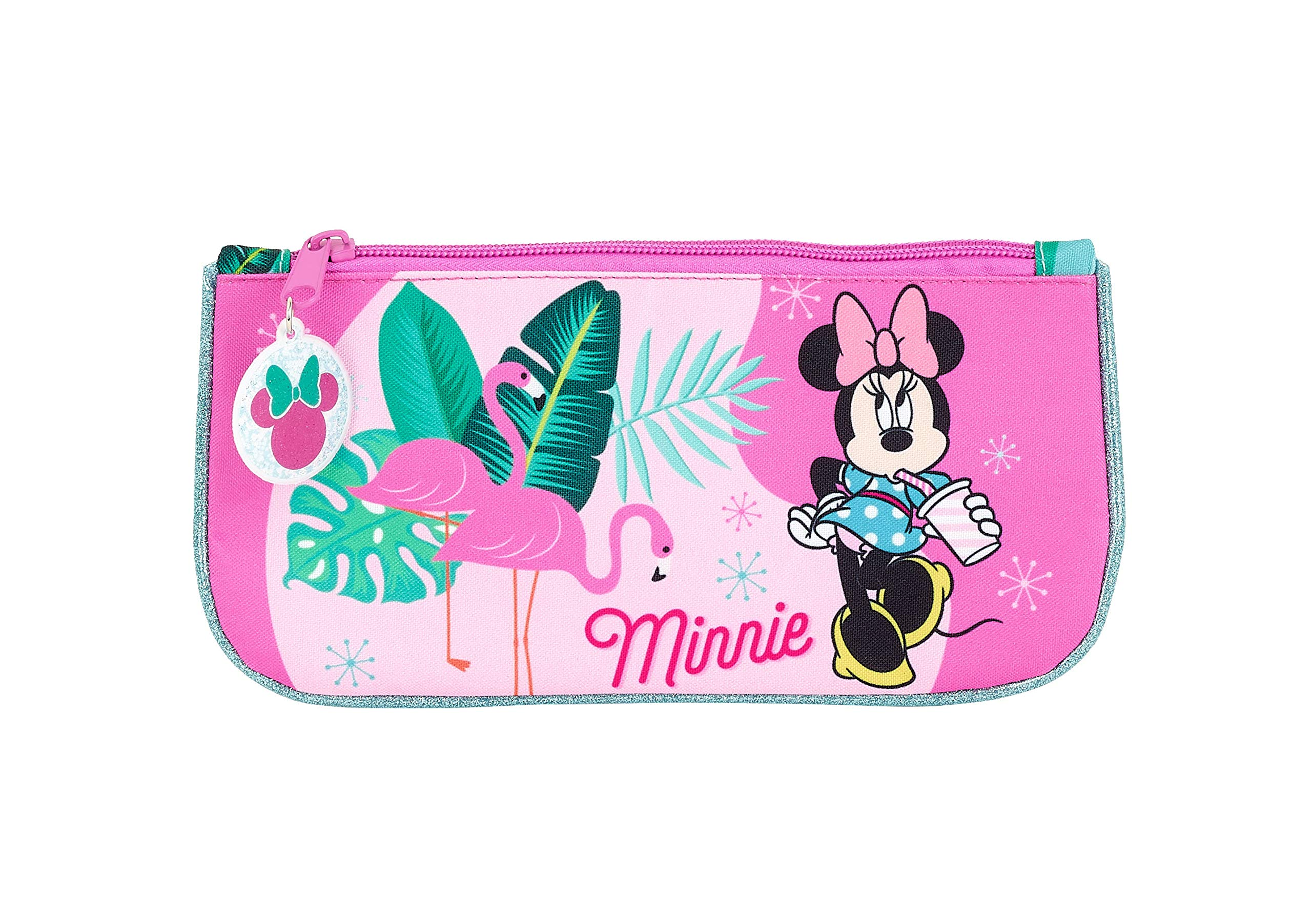 Minnie Mouse «Palms» Oficial Estuche Escolar 230x110mm