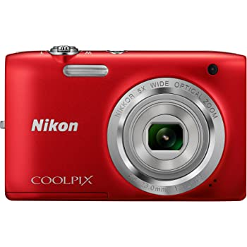 nikon coolpix s2800 red amazon co uk camera photo