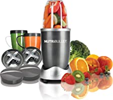 NutriBullet 12-Piece High-Speed Blender/Mixer System, 600 watts, Gray