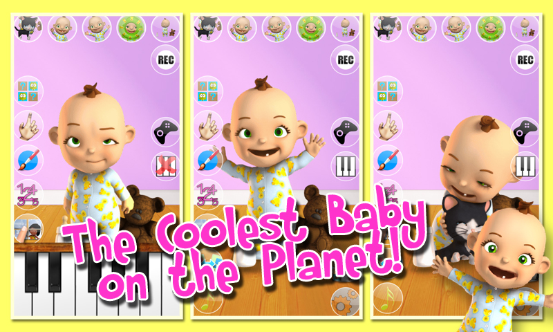 Zoom IMG-3 talking babsy baby free