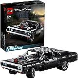 LEGO 42111 Technic Dom's Dodge Charger Byggsats med Leksaksbil Fast & Furious Bilmodell för Barn 10+