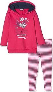 Brums Scamiciato Panno Tinto Filo con Finto Camicino Vestito Bimba