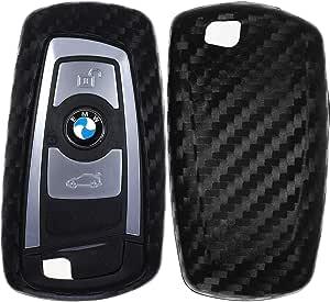Carbon Soft Case Schutz Hülle Auto Keyless Schlüssel Elektronik
