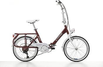 """Klapprad Cicli Cinzia Sixtie's, Aluminium-Rahmen, Rad 20"""", Größe 40"""