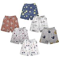 Tinchuk Boys & Girls Regular Shorts (Pack of 6)