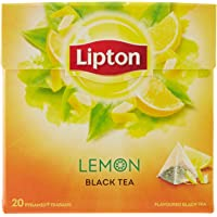 Lipton Tè al Limone, Confezione da 20 Filtri