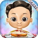 Restaurant bereitet Essen: Burger, Grillspieße , Eis und Getränke ! Lernspiel für Kinder und Mädchen - KOSTENLOS