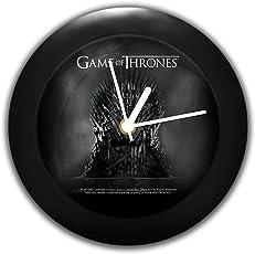 Mc Sid Razz Redwolf Game Of Thrones Table Clock Of Iron Throne