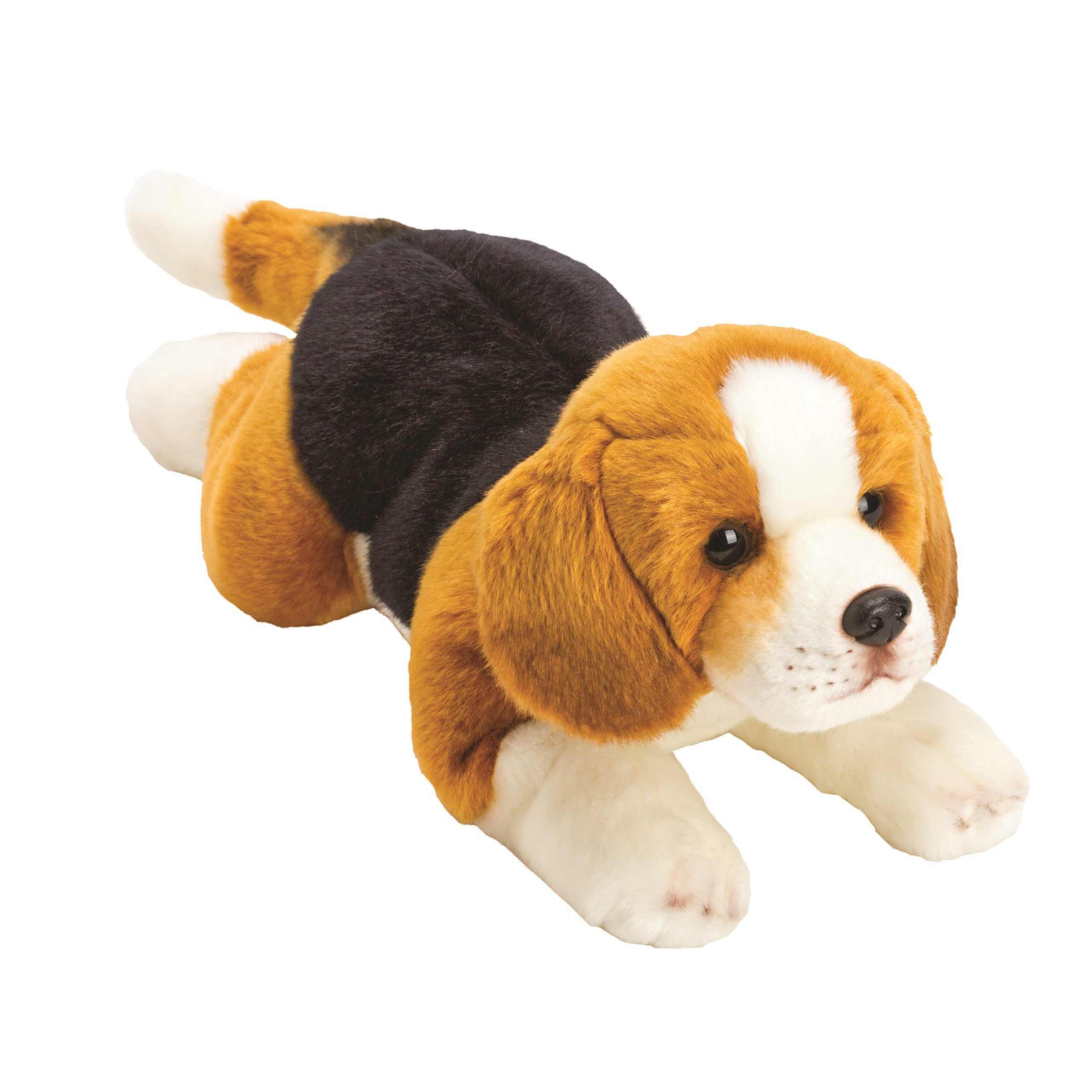 Suki Gifts Yomiko Classics Dogs Lying Beagle (Medium, Brown Black/ White)