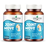 End2End Nutrition Joint Support Supplement with Glucosamine,Chondroitin & MSM -2300mg For Joint Health and Cartilage Support.
