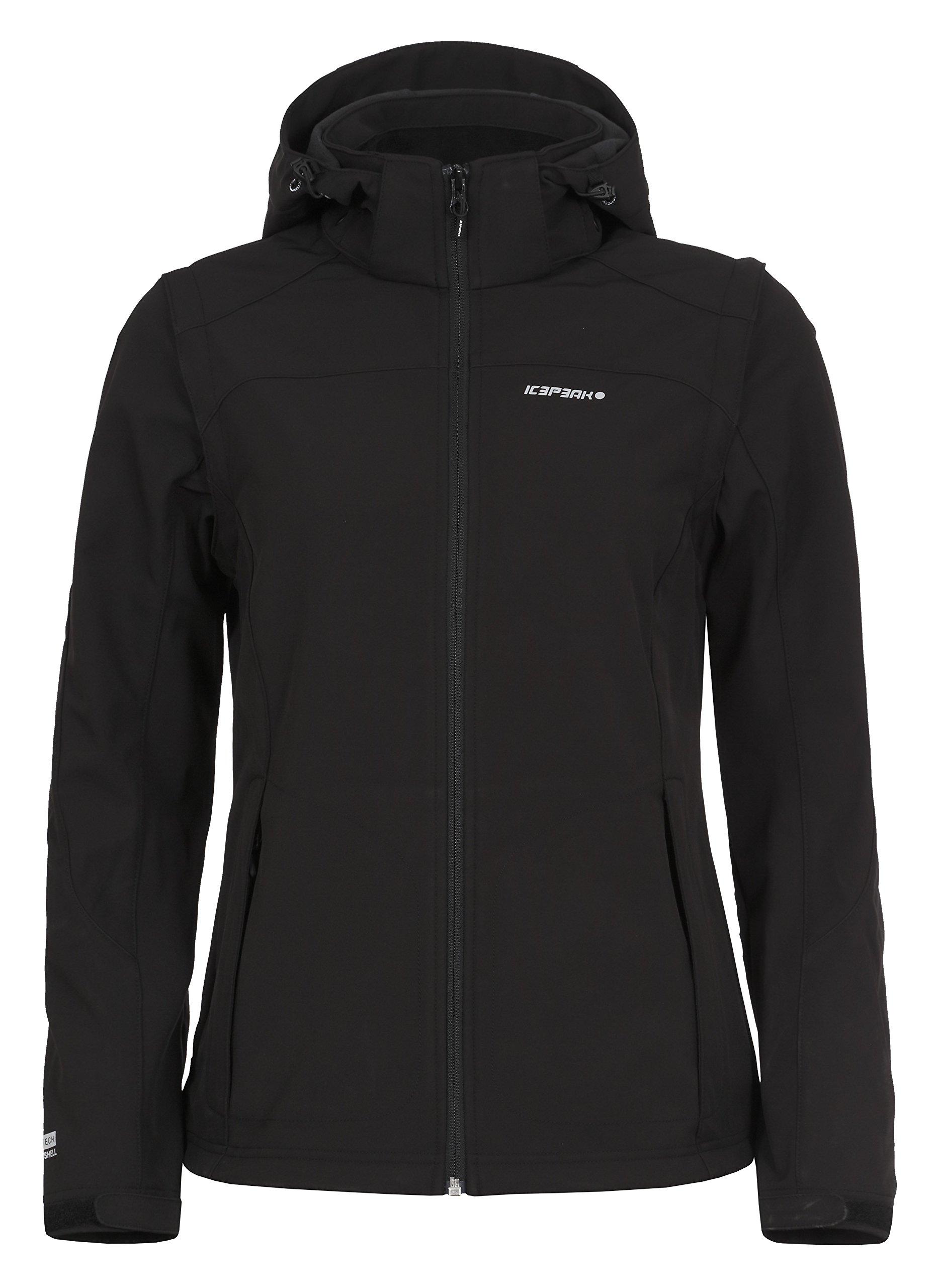 81hylywWbZL - ICEPEAK Leonie Women's Soft Shell Jacket,