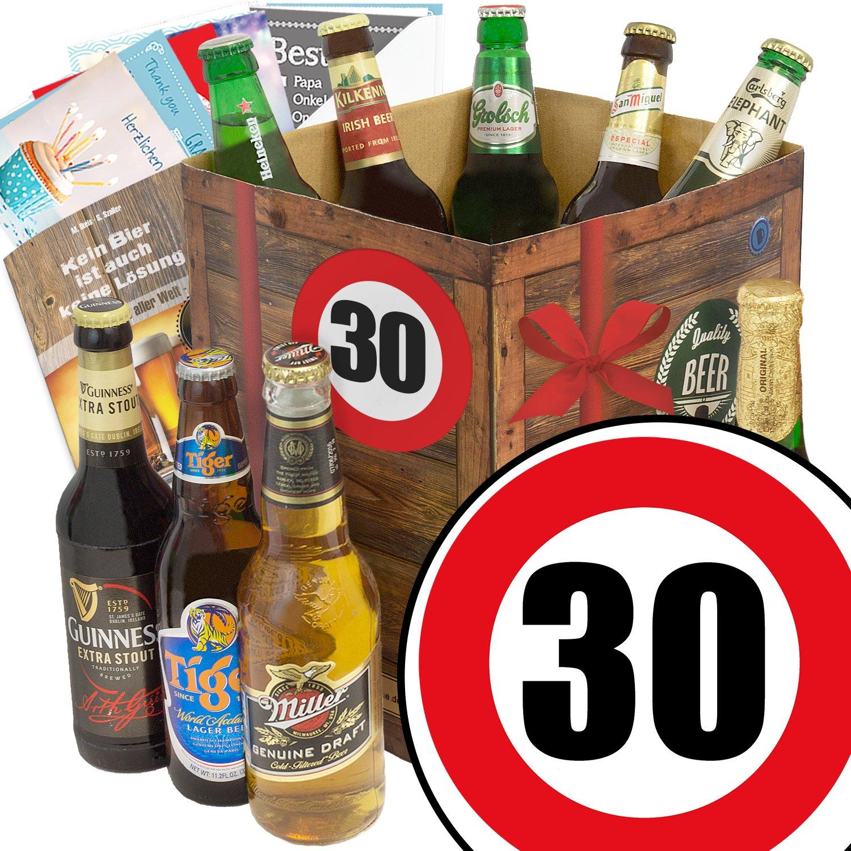 30 Geburtstag Manner Geschenkset Bier Bier Set Mit 9 Bieren Der
