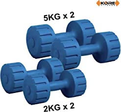 Kore DM-PVC Combo 161 Dumbbells Kit