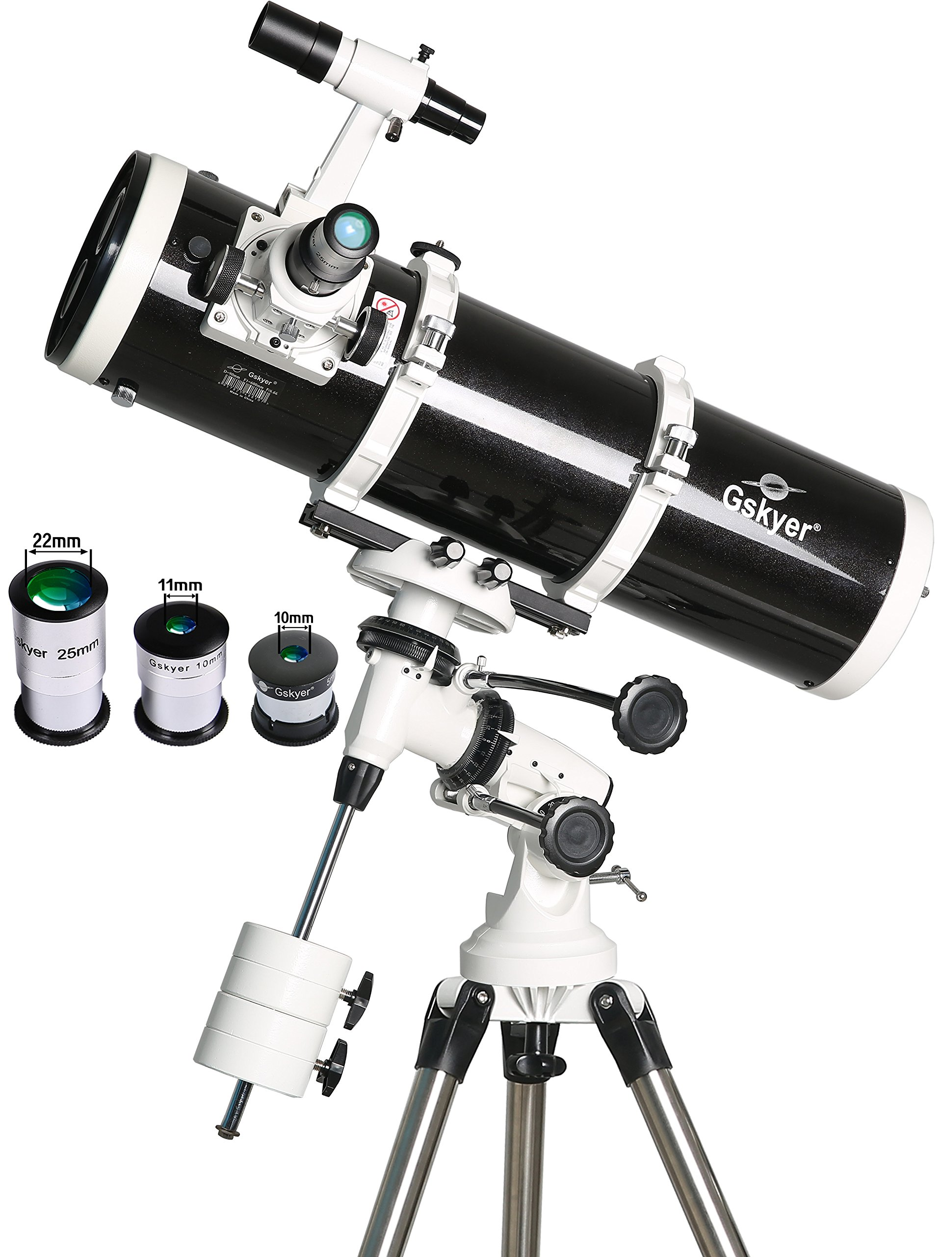 Gskyer Telescope, 130Eq Professional Astronomical Reflector Telescope, German Technology Scope