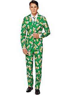 Pants and Tie Full Set Includes Jacket Suitmeister Halloween Suits for Men in Stylish /& Creepy Prints