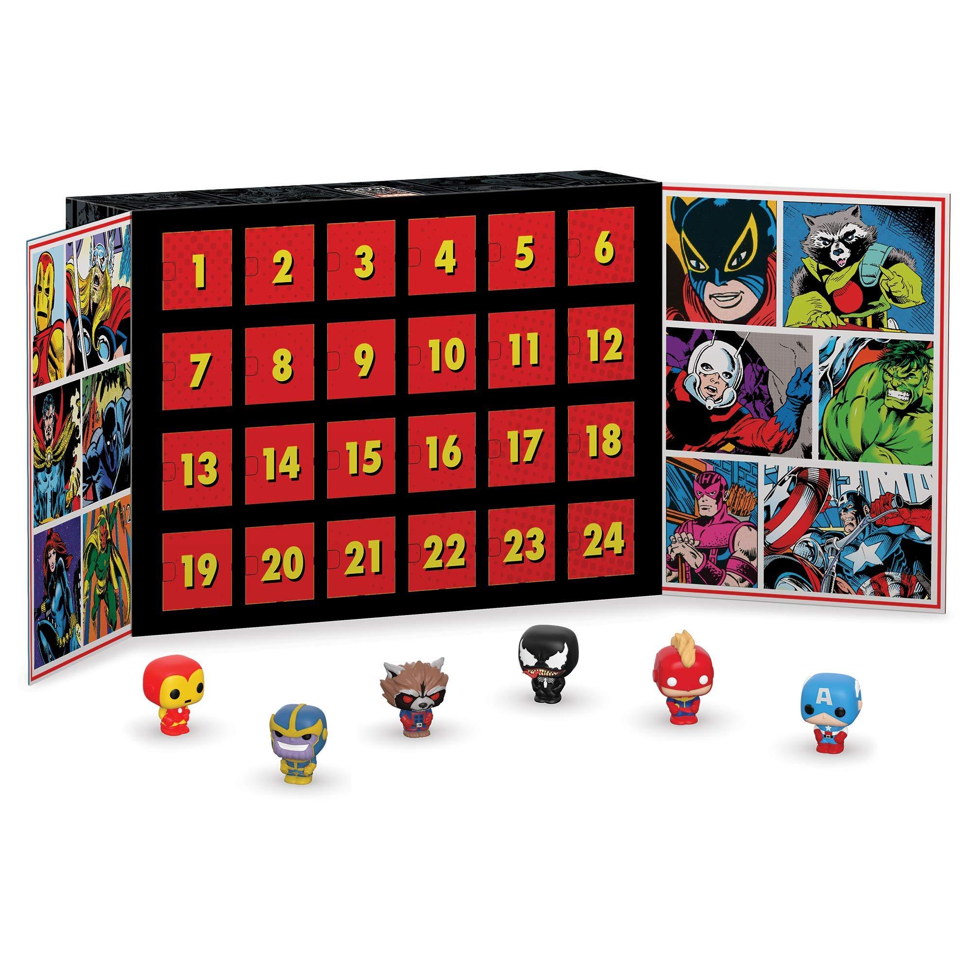 Funko Advent Calendar Marvel Calendario Adviento, Multicolor, Estándar (42752)