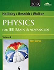 Wiley's Halliday/Resnick/Walker Physics for JEE (Main & Advanced), Vol 1, 2019ed