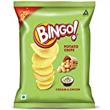 Bingo! Potato Chips Tomato, 52g Pack, Crispy & Tangy Potato Chips Perfect for Snacking