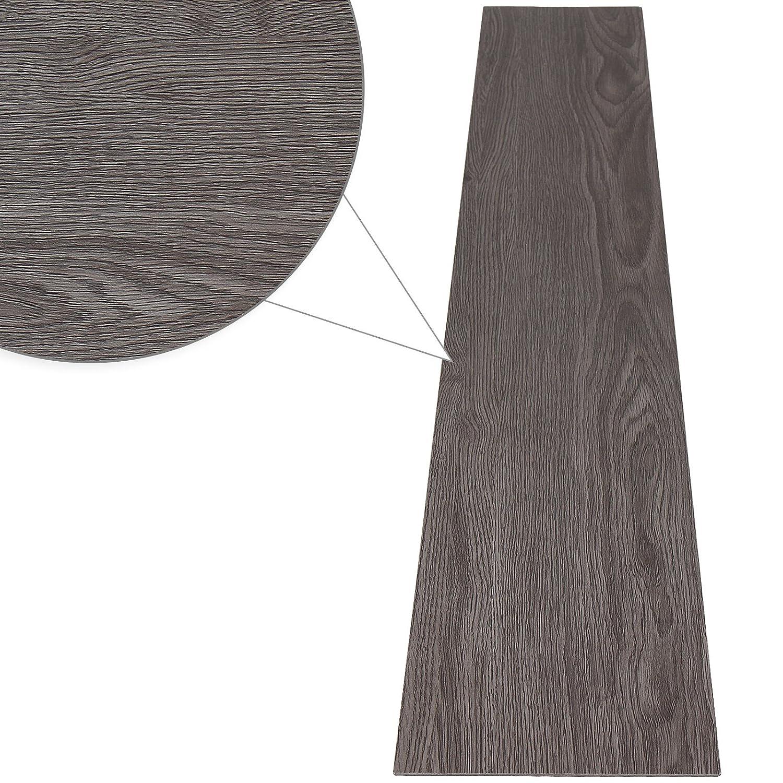 Jago Laminate Flooring Pvc 0 975 M Elegant Wooden Floorboard Effect Maple Amazon Co Uk Diy Tools
