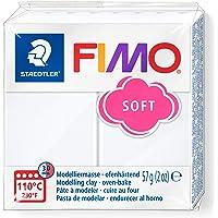 Staedtler Fimo Soft 8020, Pte à Modeler Extrêmement Souple, Facile à Démouler, Durcissant au Four, Pour Débutants et…