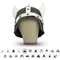 LoFelt® Chapeau de sauna en feutre pour homme et femme avec guide de suivi de sauna – Accessoire de sauna idéal pour une…