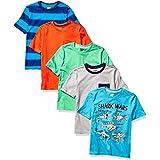 Spotted Zebra Camisetas de Manga Corta. Niños, Pack de 5