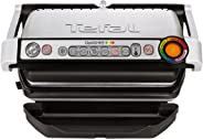Tefal GC712D OptiGrill Kontaktgrill, 2,000 Watt, schwarz