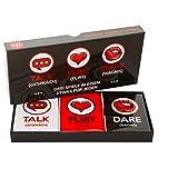 Lustiges und Romantisches Spiel für Paare: Karten-Set mit Konversationsstartern, Flirtspielen und coolen…