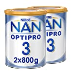 Nestle NAN OPTIPRO Stage 3, 1 to 3 years, Powder Milk Tin, 800g (2 Tins)