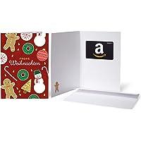 Amazon.de Geschenkkarte in Gru?karte
