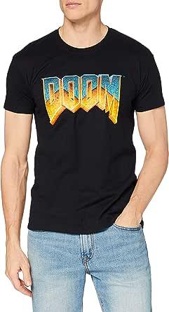 DOOM Logo Ge1126 T-Shirt Uomo