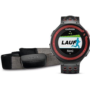 Garmin Forerunner 220 GPS-Laufuhr (umfangreiche Trainingsfunktionen, inkl. Premium Herzfrequenz Brustgurt )